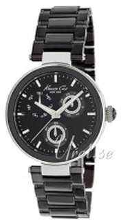 Kenneth Cole KC4729 Classic Sort/Keramik Ø34 mm