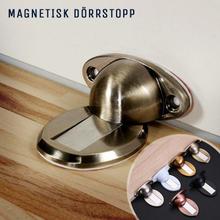 Magnetisk Dörrstopp / Dörrhållare (Färg: Vit)