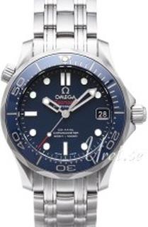 Omega 212.30.36.20.03.001 Seamaster Diver 300m Co-Axial 36.25mm Blå/Stål Ø36.36
