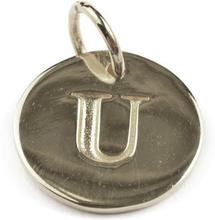 Beloved Letter Silver U, ONESIZE