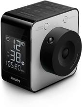 Klockradio Philips AJ4800/12 LCD FM Digital Svart