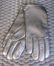 Sort læder handsker