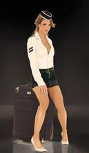Elegant Moments Airline Stewardess