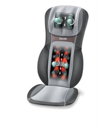 Beurer MG 295 – HD 3D Sort Massagesæde