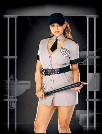 Dreamgirl Corrections Officer Plus Size 1X/2X - Frandeli