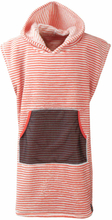 Didriksons Pier Kids Poncho 2 Barn T-shirt Orange 130-140