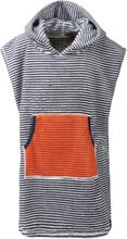 Didriksons Pier Kids Poncho 2 Barn T-shirt Blå 80-90