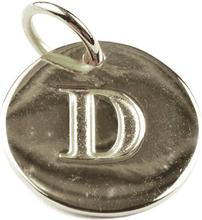 Beloved Letter Silver D, ONESIZE