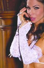 Elegant Moments - Lace Gloves White