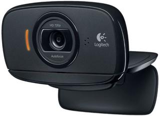 Webbkamera Logitech C525 HD 720p 8 Mpx PC MAC Svart