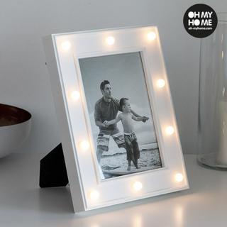 Fotoram LED för skrivbord Oh My Home