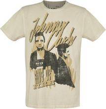 Johnny Cash - Ring Of Fire -T-skjorte - sand