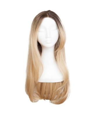 Rapunzel Of Sweden Lace Front Peruk - Long 60cm Chocolate Brown/ Scandinavian Blond