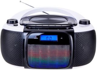Bluetooth CD-radio MP3 Daewoo DBU-61 KARAOKE FM SD 220 V Grå Svart