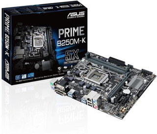 Moderkort Asus PRIME B250M-A mATX LGA1151