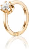 Crown Wedding Ring Guld 1,0 ct Diamant - 16,25 - 1