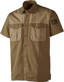 Härkila Men's PH Range Shortsleeve Shirt Herre kortermede skjorter Beige L