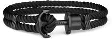 Paul Hewitt Nylon Phrep Armband Svart/svart