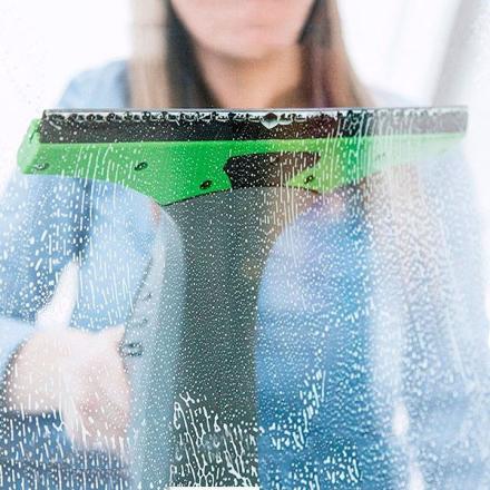 Fönsterdammsugare Cecoclean Crystal Clear 5023 0,3 L 12W Grå Trådlös