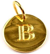 Beloved Letter Gold B, ONESIZE
