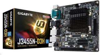 Moderkort med Integrerad CPU Gigabyte GA-J3455N-D3H Mini-ITX Intel® Quad-Core Celeron® J345