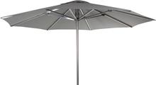 Arezzo parasoll Alu/grå 3x3 m