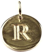 Beloved Letter Silver R, ONESIZE
