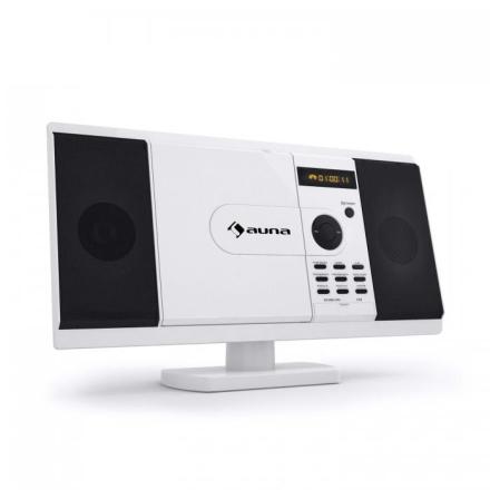 MCD-82 DVD-spelare Stereoanläggning USB SD Vit