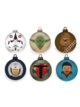 - The Empire Strikes Back Bauble / Christmas Tree Ornament Pack - Muut