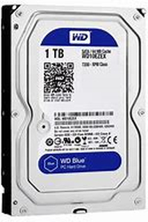 Western Digital 1TB WD Blue Hard Disk 3.5 inchmprove PC PerformanceGive your desktop a performance and storage boost when you combine your hard drive with an SSD to maximize speed of data access and a WD Blue drive for up to 6TB of additional capacity.Pla