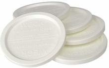 deksel 60mm plast. vr WECK sapfles 5 stuks