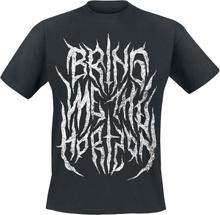 Bring Me The Horizon - Smoke Text -T-skjorte - svart