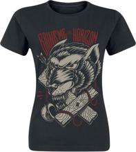 Bring Me The Horizon - Wolf Terror -T-skjorte - svart