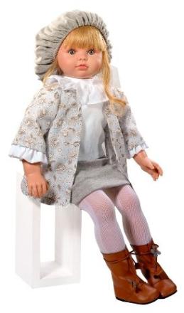 Dukke fra Así - Pepa m. lyst hår (57 cm) - BabyGear.dk