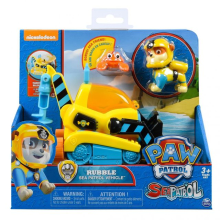 Paw Patrol - Rubble Sea Patrol vehicle
