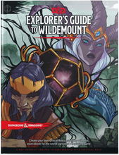 EurekaShop Dungeons & Dragons RPG Book - Explorer's Guide to Wildemount