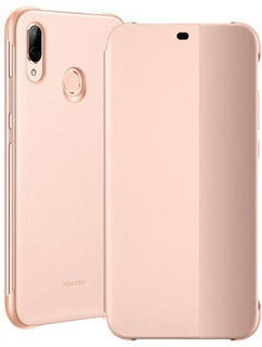 Huawei P20 Lite Smart View Flip Cover 51992315 - Pink