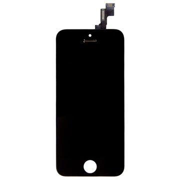 iPhone 5S/SE Skærm - Sort - Original Kvalitet