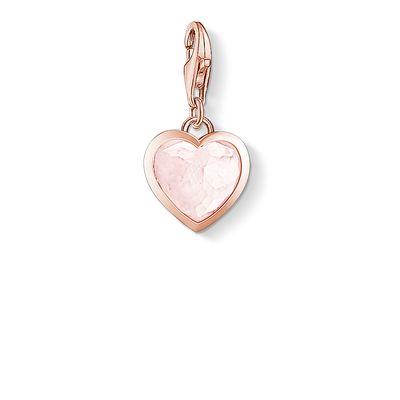 Vitt hjärta rosé
