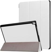 Tri-Fold Lenovo Tab 4 10 Plus Cover - Hvid