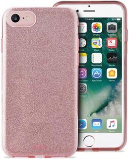 Puro Glitter iPhone 6/6S/7/8 Cover - Rødguld