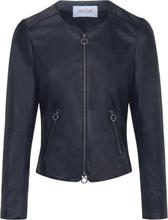 Lederjacke aus 100% Premium-Lammnappaleder Riani blau