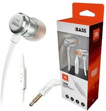 JBL T290 Pure Bass In-Ear Hovedtelefoner med Mikrofon - Sølv