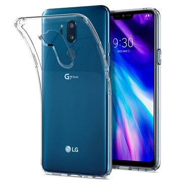 Ridsefast LG G7 ThinQ TPU Cover - Gennemsigtig