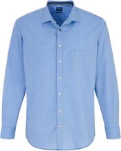 Skjorta Modern Fit kentkrage från Olymp blå