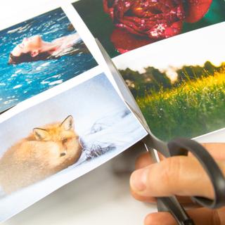 Magnetisk foto papir i A4 format   Sett med 10 ark   Glossy fotopapir