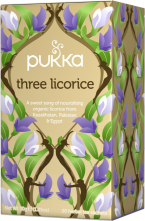 PUKKA - Three Licorice Tea