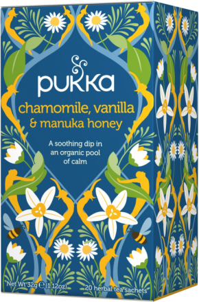 PUKKA - Camomille, Vanilla & Manuka Honey Tea