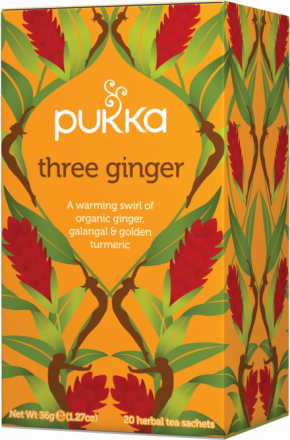 PUKKA - Three Ginger Tea