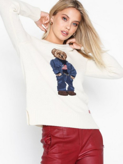 Polo Ralph Lauren Denim Bear-Long Sleeve-Sweater